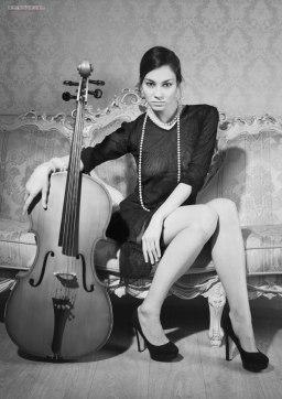 Anna Kirillova by Pavel Vinogradov