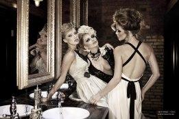 Models: Chucha, Maria Klochkova and Kristina Yakimova - Photo: Viktoria Ivanenko